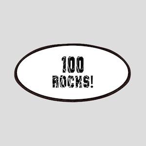 100 Rocks Birthday Designs Patch