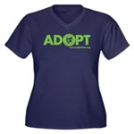 Adopt Women's Plus Size T-Shirt