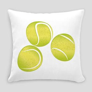 Tennis Balls Everyday Pillow