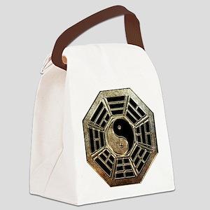 Yin Yang Bagua Canvas Lunch Bag