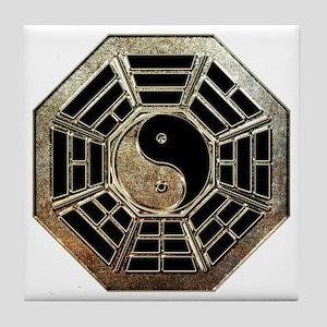 Yin Yang Bagua Tile Coaster