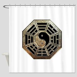 Yin Yang Bagua Shower Curtain