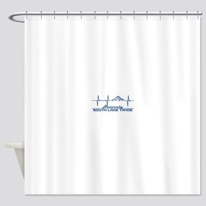 Heavenly Ski Resort - South Lake Shower Curtain