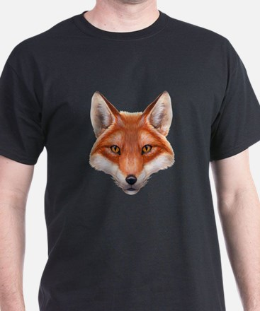 Red Fox Face T-Shirt