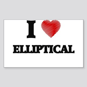 I love ELLIPTICAL Sticker