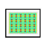 Spool Art 14 Framed Panel Print