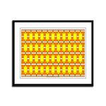 Spool Art 09 Framed Panel Print