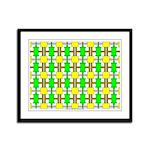 Spool Art 06 Framed Panel Print