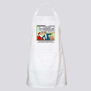 Santa on Trial Light Apron