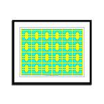 Spool Art 01 Framed Panel Print