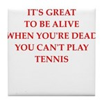 tennis Tile Coaster