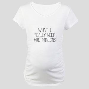 Minions Maternity T-Shirt