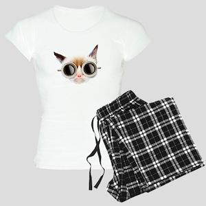 Coffee Cat Women's Light Pajamas