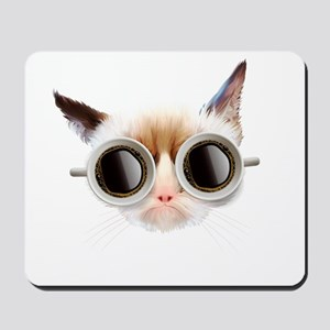 Coffee Cat Mousepad