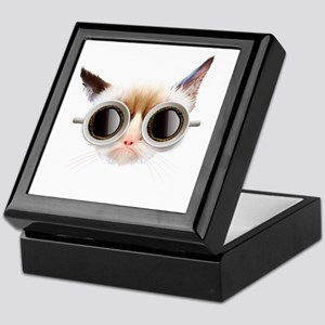 Coffee Cat Keepsake Box