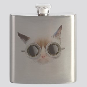 Coffee Cat Flask