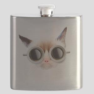 Coffee Cat Flask