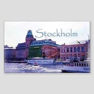Ferry to Djurgarden Sticker