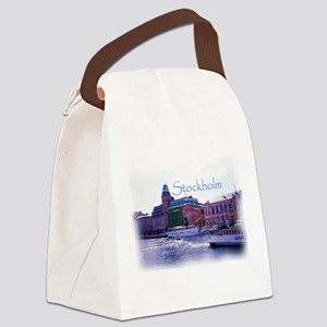 Ferry to Djurgarden Canvas Lunch Bag