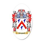 Redgwell Oval Car Magnet