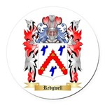 Redgwell Round Car Magnet