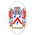 Redgwell Sticker (Oval 50 pk)