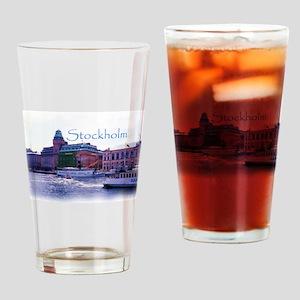 Ferry to Djurgarden Drinking Glass