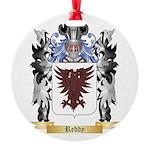 Reddy Round Ornament