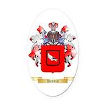 Reddin Oval Car Magnet