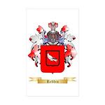 Reddin Sticker (Rectangle 10 pk)