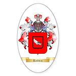 Reddin Sticker (Oval 50 pk)