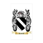 Redcliff Sticker (Rectangle 10 pk)
