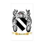 Redcliff Sticker (Rectangle 50 pk)