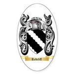 Redcliff Sticker (Oval)