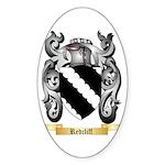 Redcliff Sticker (Oval 50 pk)