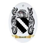 Redcliff Oval Ornament