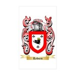 Reburn Sticker (Rectangle 50 pk)