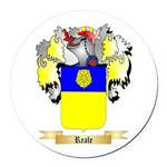 Reale Round Car Magnet