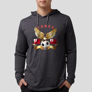 Tonga Football Design Long Sleeve T-Shirt