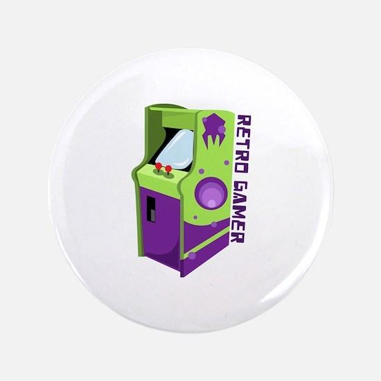 Retro Gamer Button