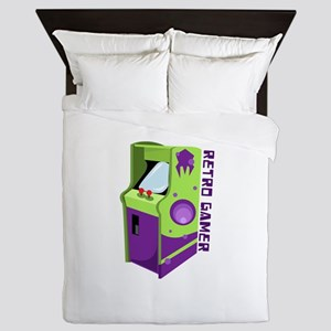 Retro Gamer Queen Duvet