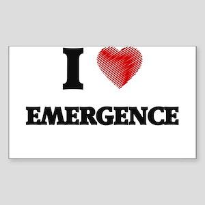 I love EMERGENCE Sticker