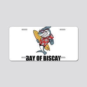 Bay of Biscay Aluminum License Plate
