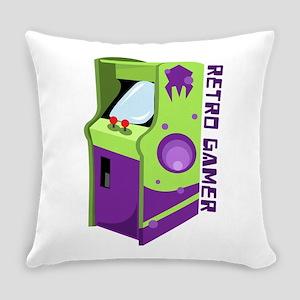 Retro Gamer Everyday Pillow