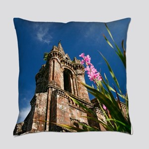 Gothic chapel Everyday Pillow