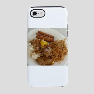 chicken adobo,pancit and lum iPhone 8/7 Tough Case