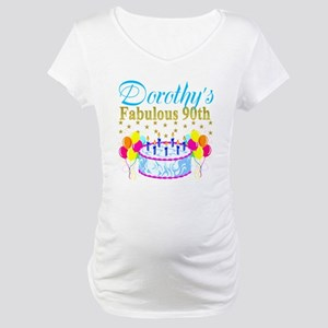CUSTOM 90TH Maternity T-Shirt