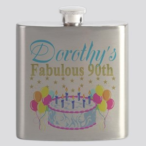 CUSTOM 90TH Flask