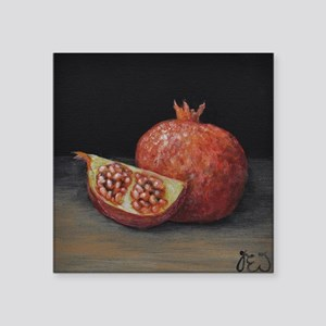 Gourmet Food Pomegranate Sticker