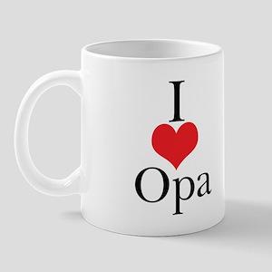 I Love (Heart) Opa Mug